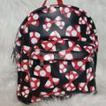 Disney Accessories | Authentic Disney Parks Minnie Backpack | Color: Black/Red | Size: 10x5 Inches