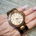 Michael Kors Accessories | Michael Kors Rose Gold Tone Ladies Watch | Color: Gold/Orange | Size: Os