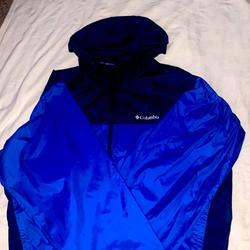Columbia Jackets & Coats   Columbia Xxl Royal Blue And Navy Blue Windbreaker   Color: Blue   Size: Xxl