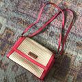 Kate Spade Bags   Basket Weave & Leather Kate Spade Handbag   Color: Pink/Tan   Size: Os