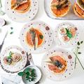 Battle Cow White & Rose Gold Birthday Party Supplise Serve 50 250 Pcs Disposable Birthday Plates & Napkin Sets For Birthday Party Decorations