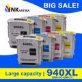 Inkaran – cartouche d'encre 940XL C4906A C4907A C4908A C4909A pour HP Officejet Pro 940 A809a A811a