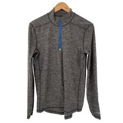 American Eagle Outfitters Shirts | American Eagle Running Sweatshirt Thumbholes Gray | Color: Blue/Gray | Size: Xs