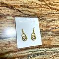 Michael Kors Jewelry | Michael Kors Mk Hanging Locket Earring | Gold | Color: Gold | Size: Michael Kors Mk Hanging Locket Earring | Gold