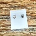 Michael Kors Jewelry | Michael Kors Mk Post Earring Studs | Silver | Color: Silver | Size: Michael Kors Mk Post Earring Studs | Silver