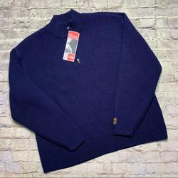 The North Face Sweaters | New The North Face Alpine Wool Sweater | Color: Blue | Size: Xl
