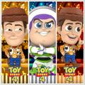 Figurine d'action de COSBABY, jouets chauds (COSB603/605/687), Woody Buzz Lightyear cut doll, en