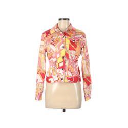 Kemp & Company Denim Jacket: Pink Jackets & Outerwear - Size 8