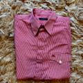 Burberry Shirts | Burberry Red Gingham Short Sleeve Buttondown | Color: Red/White | Size: S