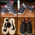 Nike Shoes | Nike Lebron Soldier 11 Black And Red Hightop Shoes | Color: Black/Red | Size: 12c