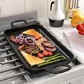 qizhongtrade Nonstick Grill Pan, Induction Stove Top Grill Plate, Grill Top For Stove, Grilled Pan For Stovetop, Grilling Pan For Indoor   Wayfair