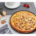 "JingJiuTrade Pizza Pan 16 Inch,Perforated Pizza Pan Crisper w/ Holes in Black, Size 0.6"" H x 16.1"" W x 16.1"" L | Wayfair PYN11A07ZH6DQ94-10"