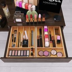 Foundry Select Utensil Drawer Organizer, Cutlery Tray Desk Drawer Organizer Silverware Holder Kitchen Knifes Tray Drawer Organizer in Yellow Wayfair