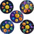 Fabricant de bulles musicales, décompression, pincement, huit planètes, rongeur, pionner, jouets