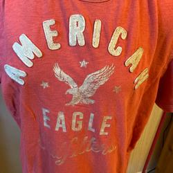 American Eagle Outfitters Shirts   Mens American Eagle Outfitters Classic Fit Tshirt   Color: Pink   Size: L