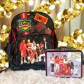 Disney Other | Disney High School Musical Back Pack W Lunch Box | Color: Black/Red | Size: Osg