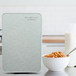 Dayyet 20L Portable Small Mini Fridge,Car Refrigerator Mini Cold & Warm Refrigerator in Gray/White, Size 13.0 H x 17.0 W x 11.0 D in | Wayfair