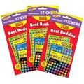 TREND enterprises, Inc. Trend Best Buddies Collection Superspots® Variety Pack, 2500 Per Pack, 3 Packs, Size 8.0 H x 4.16 W x 0.57 D in   Wayfair