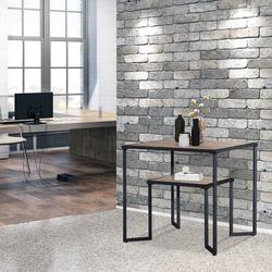 17 Stories Industrial Coffee Table For Living Room, 2-Tier Tea Table w/ Storage Shelf TV Stand Side End Table, Accent Furniture For Home Office