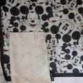 Disney Accessories | Disney'S Mickey Mouse Scarf & Ae Mickey Dust Bag | Color: Black/White | Size: Os