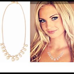 Kate Spade Jewelry | New Kate Spade Classic Pearl Gold Necklace | Color: Gold | Size: Necklace Length: 18+ 2 34 Extender