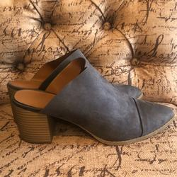 American Eagle Outfitters Shoes   American Eagle Closed Toe Heels Blue Gray Size 10   Color: Blue/Gray   Size: 10