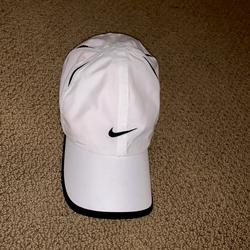 Nike Accessories | Nike White Womens Hat Athletic Hat Dri-Fit Hat | Color: White | Size: Os