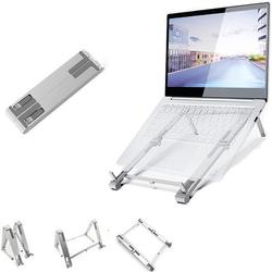 GoodDogHousehold Laptop Stand, Mobile Phone Stand, Tablets Stand, Small Portable, Foldable Aluminium Alloy Computer Stand, Compatible w/ Macbook Air Pro