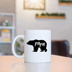 feidigeluo Papa Bear Coffee Mug Papa Bear Mug Fathers Day Mugs For Dad Husband Birthday Christmas Mugs For Dad From Daughter Son Birthday Mugs Coffee Mugs For Da
