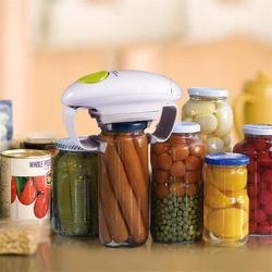 koent Electric Jar Opener, Restaurant Automatic Jar Opener For Seniors w/ Arthritis, Weak Hands, Bottle Opener For Arthritic Hands   Wayfair in White
