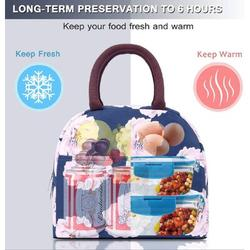 Red Barrel Studio® Lunch Tote Bag For Women Stylish Lunch Tote Bag Insulated Lunch Bag Lunch Box Insulated Lunch Container | Wayfair