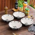 Red Barrel Studio® Salad Bowl Pasta Bowls Ceramic Salad Bowls Pasta Bowl 4-Pieces Bowl Set Serving Bowls Pasta Bowls Set Of 4All Ceramic/Earthenware/Stoneware