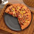 GoodDogHousehold Pizza Baking Sheet,15 Inch Round Pizza Pan w/ Holes, Perforated Pizza Crisper Cooking Pan, Steel Pizza Tray For Oven | Wayfair