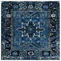 World Menagerie Canika Oriental Area Rug Polypropylene in Blue/Gray, Size 1.18 D in | Wayfair A950E4038C774A739AD326D264A190ED