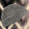 J. Crew Accessories | J Crew Black White Wool Beanie Hat | Color: Black | Size: Os