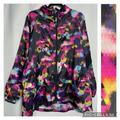 Lularoe Jackets & Coats   Lularoe Rise Determined Lightweight Jacket Size 1x   Color: Black/Pink   Size: 1x