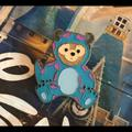 Disney Other | 5$30 Disney Duffy Sulley Costume Pin | Color: Blue | Size: Pin