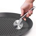 zhulinjubao Pizza Baking Sheet,15 Inch Round Pizza Pan w/ Holes, Perforated Pizza Crisper Cooking Pan, Steel Pizza Tray For Oven | Wayfair