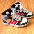 Adidas Shoes | Girls High Tops Adidas | Color: Pink/White | Size: 12.5