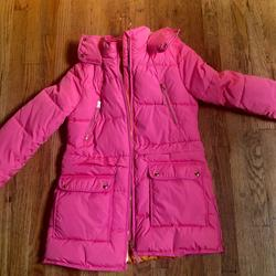 J. Crew Jackets & Coats   J.Crew Chateau Puffer Jacket W Primaloft   Color: Pink   Size: Xs