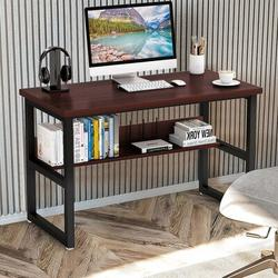Latitude Run® Home Office Computer Desk Computer Bedroom Laptop Study Table Office Desk Workstation Home Desktop Computer Desk Gaming PC Laptop Desk Work Table Stud Wood