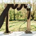 Le Prise™ Chiffon Table Runner 29X120-InchChiffon Overlay Wedding Table Runner Sheer Table Runner For Dining Rustic Table Cloth Runner Chiffon Fabric For