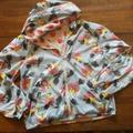 Anthropologie Jackets & Coats | Essentiel Antwerp | Reversible Light Floral Jacket | Color: Pink | Size: Xl