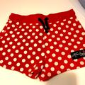 Disney Bottoms   Girls Minnie Mouse Shorts   Color: Red/White   Size: M(10)