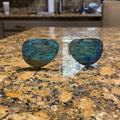 Ray-Ban Accessories | Blue Polarized Ray Ban Sunglasses. Medium Size | Color: Blue | Size: Medium