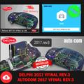 Logiciel (Delphi 2017 + Autocom 2017) vFiNal REV.3 pour Delphis 150e Multidiag Vd Ds150e avec