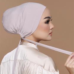 Casquette Hijab intérieure musulmane, Turban Modal, sous-foulard extensible islamique, Bonnet en