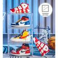 slai 3 Pack Shoe Boxes Clear Shoe Storage Box Plastic Display Organizer Large Shoe Container Magnetic Side Open Stackable Shoe Boxes | Wayfair
