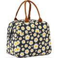 Gracie Oaks Lunch Bag Insulated Lunch Tote Bag Lunch Box Container Cooler Bag w/ Front Pocket Reusable Lunch Bags For Women Men Adults Girls Work Hiking Picnic