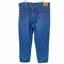 Levi's Jeans   Levi'S 550 Jeans 46 X 34 Straight Leg Denim Jeans   Color: Blue   Size: Waist 46